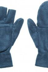 Fleece halve vinger handschoenen (met omslagflap)