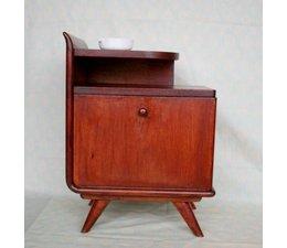 * VERKOCHT * Fraaie vintage design nachtkastjes