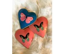 Imbarro Prachtige hangers Hart ´Vlinder´