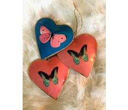 """Imbarro Prachtige hangers Hart """"vlinder"""""""