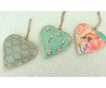 "Imbarro Leuke metalen Hangers ""Hearts of Soul"""
