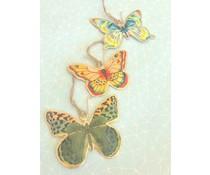"""Imbarro Hele fraaie metalen hanger """"Butterfly"""""""