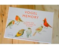 Prachtig & leerzaam vogelmemory