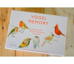 * SOLD * Prachtig en leerzaam Vogelmemory (Vogelbescherming)