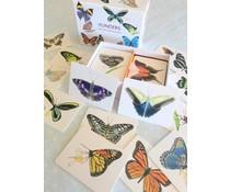 * VERWACHT * Prachtig & leerzaam Vlinders memospel