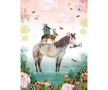 Wandplaat | Pimpelmees, Roald Dahl enzv