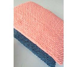 Imbarro Pompoentjeskussen Poppy   petrol/pink