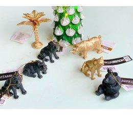 "Stoere kersthangers ""animals assorti"""
