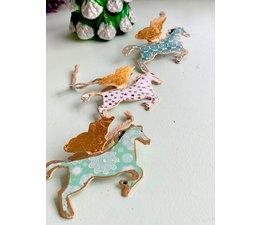 Imbarro Metalen hanger Flying Horse & Reindeer head