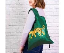 Leopard Love, opvouwbare tas | Sass & Belle
