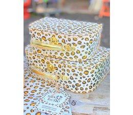 Leopard Love Koffertjes, set v 2 | Sass & Belle