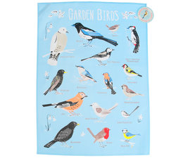 Garden Birds tea towel   Sass & Belle