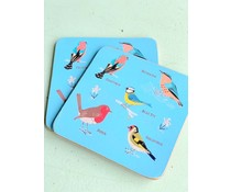 Garden Birds coaster | Rexlondon
