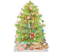 Poëzieplaatje Kerstboom (groot)