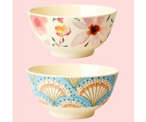 Rice! Melamine kom Selma's Flower - Small