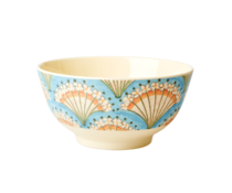 Rice! Melamine kom Flower Fan | Medium