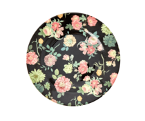 Rice! Melamine plate - Dark rose | lunch