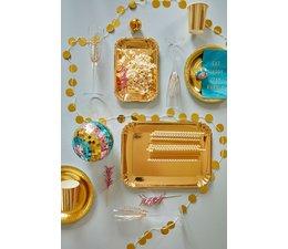 Rice! Glamourslinger - gouden cirkels