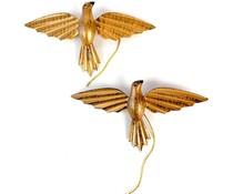 """Imbarro Stijlvolle metalen vogelhanger """"Pagaro Gold"""""""