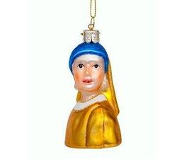 Vondels Amsterdam Kerstornament Meisje met de Parel (Vermeer)
