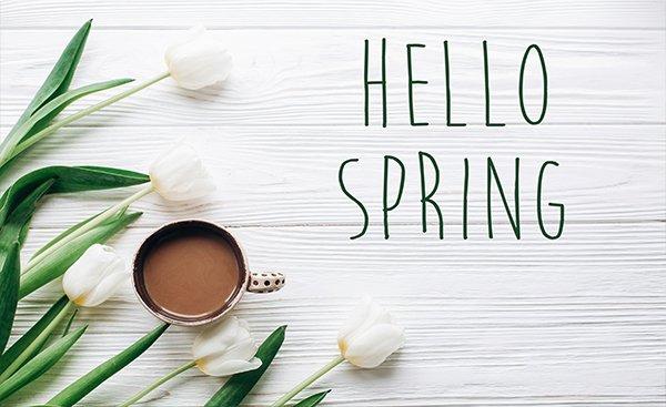 Het is lente