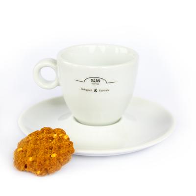 Sun Coffee Espressotasse und Untertasse - 24 Stück