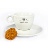 Sun Coffee Kaffeetasse und Untertasse Set - 24 Stk