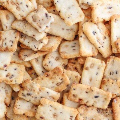 IDorganics Rijstcrackers, met zwarte bonen*