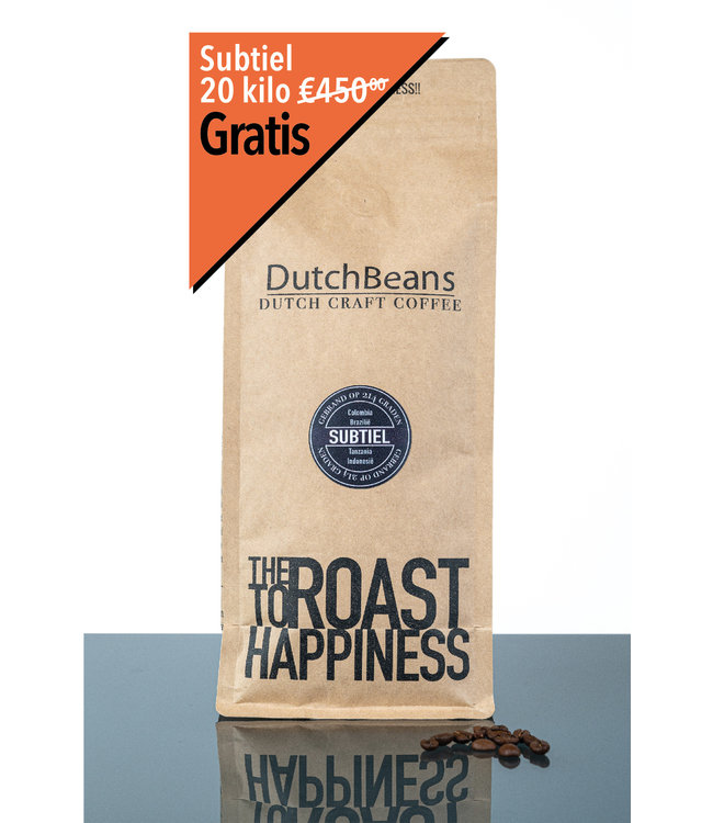 Dutch Craft Coffee 20kg - Subtiel 214