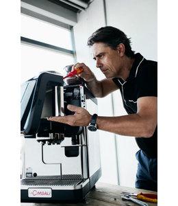 Plaatsing koffiemachine