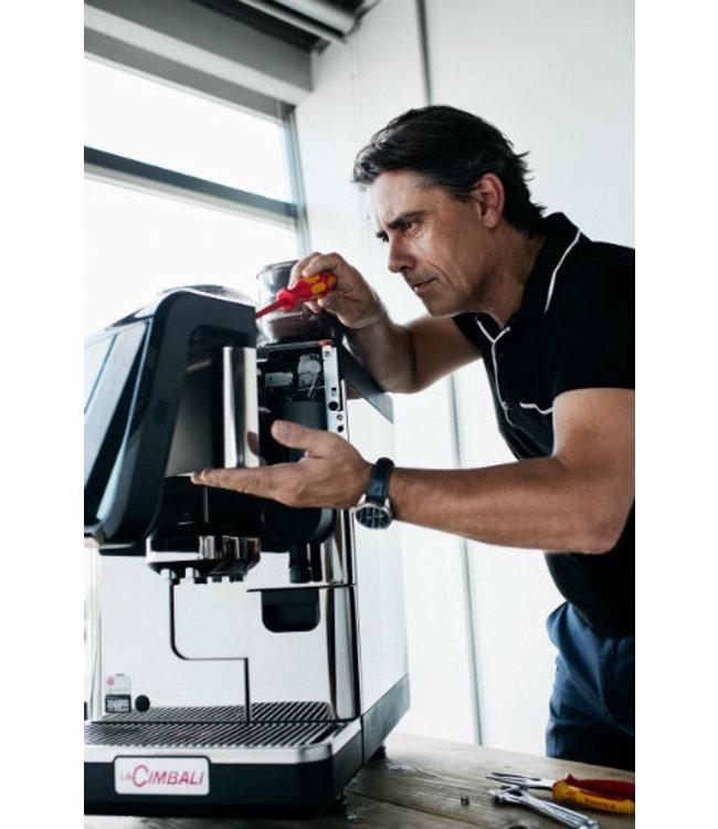Plaatsing volautomaat koffiemachine