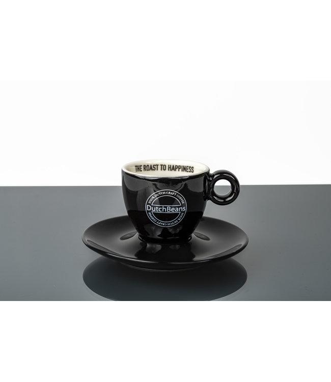 DutchBeans Espresso kop en schotel