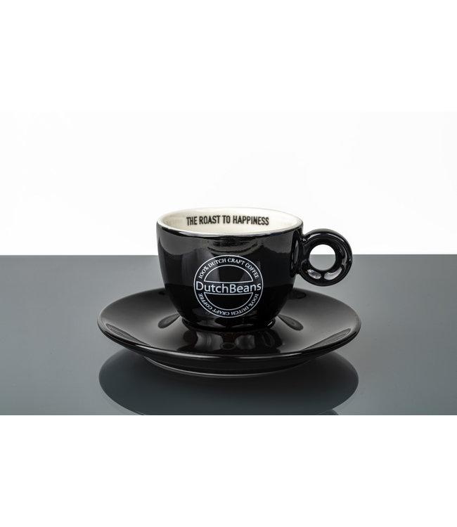DutchBeans Koffie kop en schotel