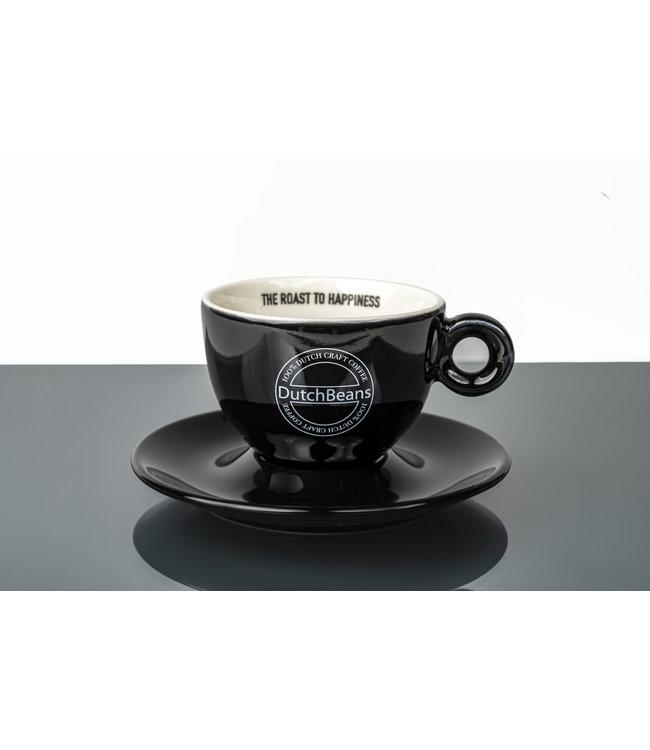 DutchBeans Cappuccino kop en schotel
