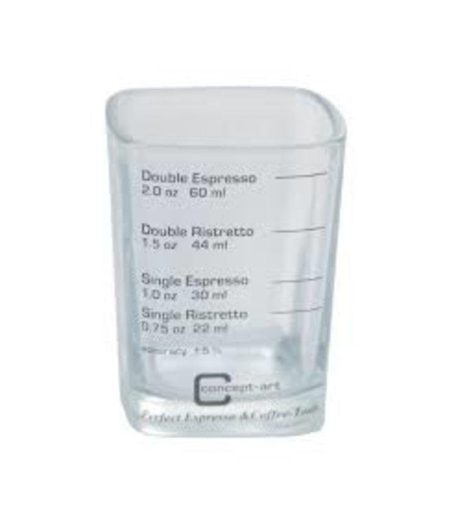 Joefrex Maatglas met aanduiding