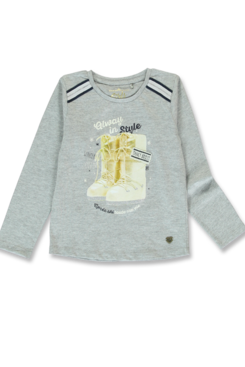 Lemon Beret | Winter 2019 Small Girls | T-shirt | 12 pcs/box