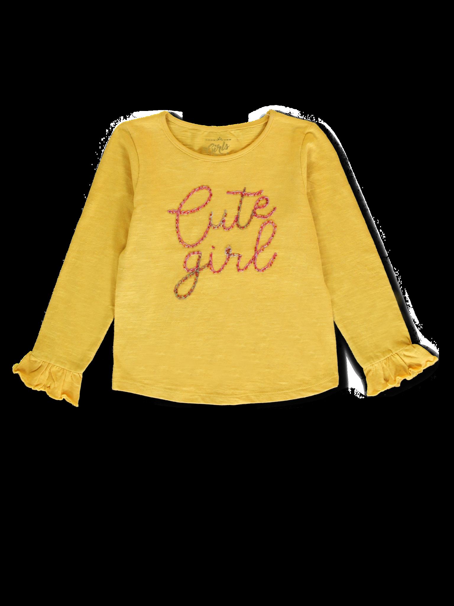 Lemon Beret | Winter 2019 Small Girls | T-shirt | 12 pcs/box