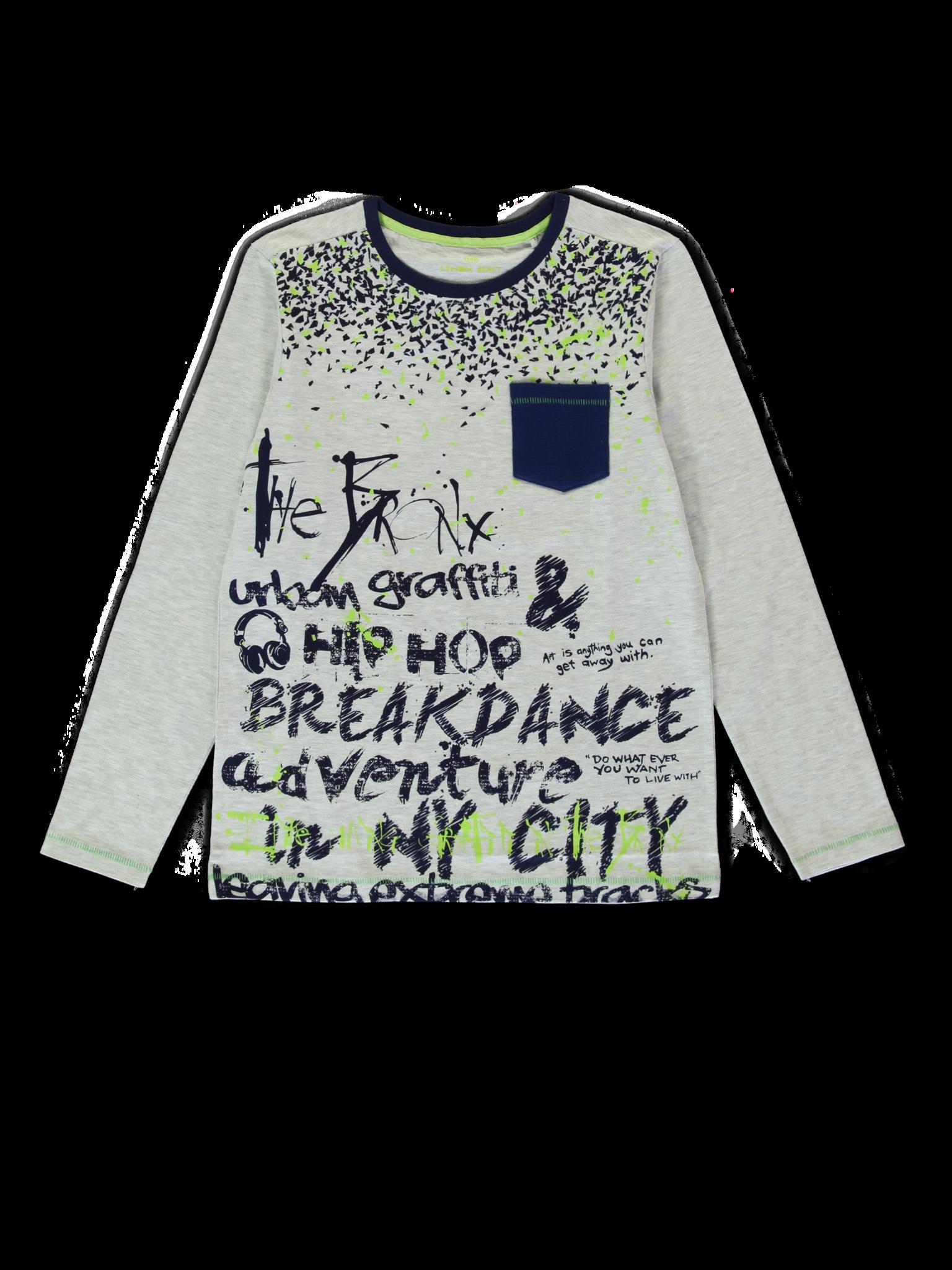 Lemon Beret | Winter 2019 Teen Boys | T-shirt | 12 pcs/box
