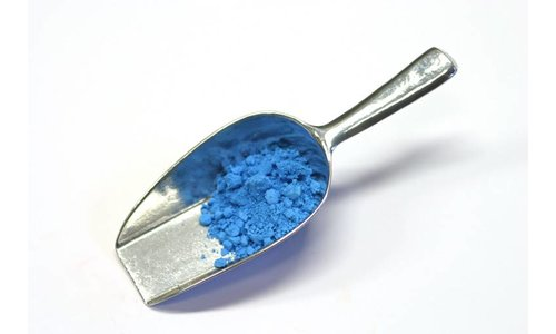 Chalk blue light