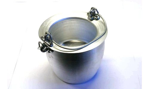 Aluminium glue pot 0,5 litre