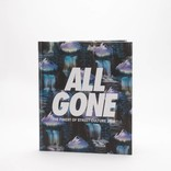 """ALL GONE 2016 book """"Waterfalls"""" Blue"""
