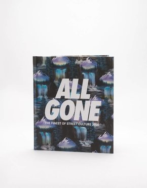 """All Gone ALL GONE 2016 book """"Waterfalls"""" Blue"""