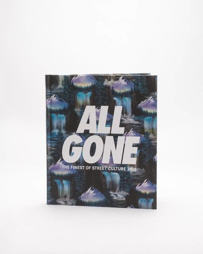 "ALL GONE 2016 book ""Waterfalls"" Blue"