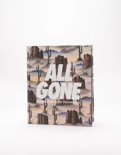 "ALL GONE 2016 book ""Desert Storm"" Sand"