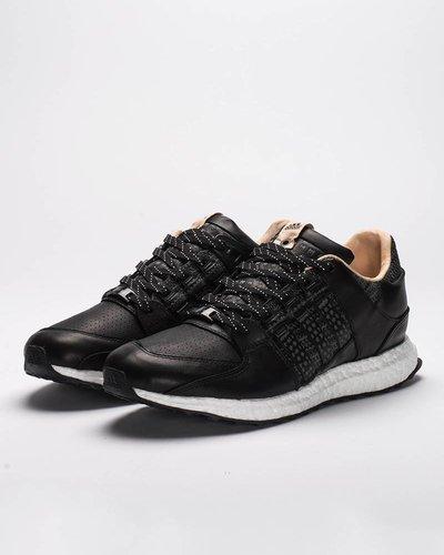 Adidas consortium x Avenue eqt support 93/16  black/white
