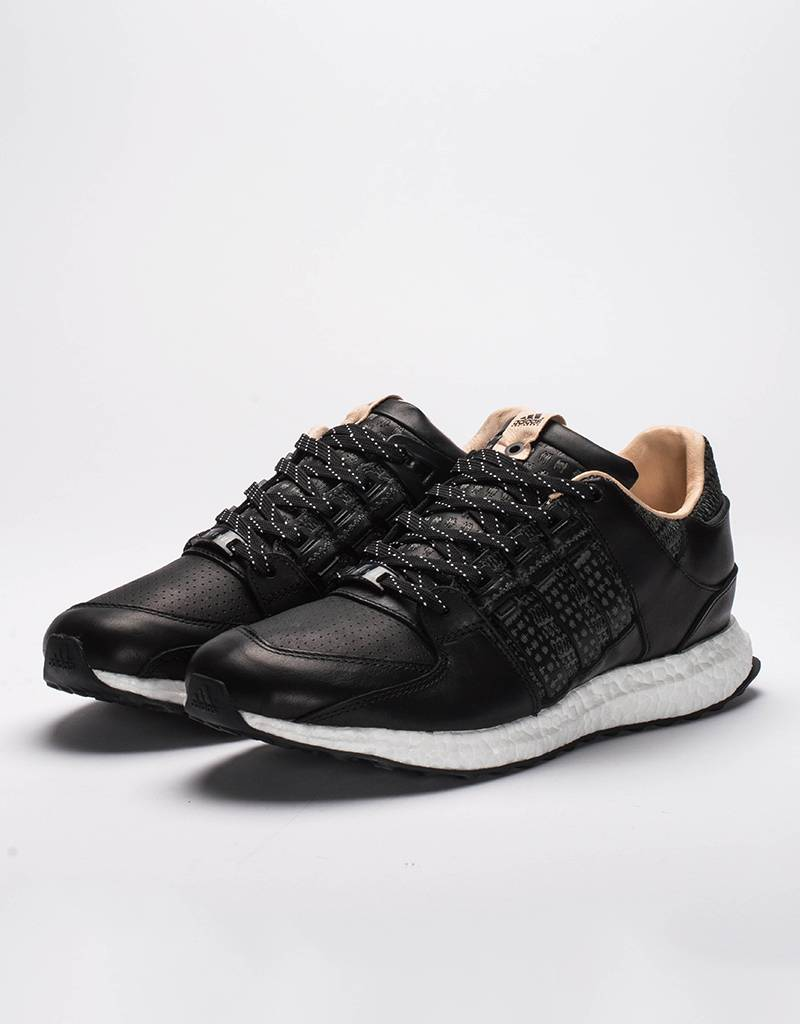 Adidas consortium x Avenue eqt support 93/16  black/white