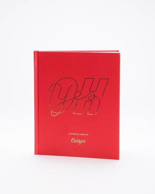 "Ceizer Ceizer ""OH YES"" Hardcover Boek"