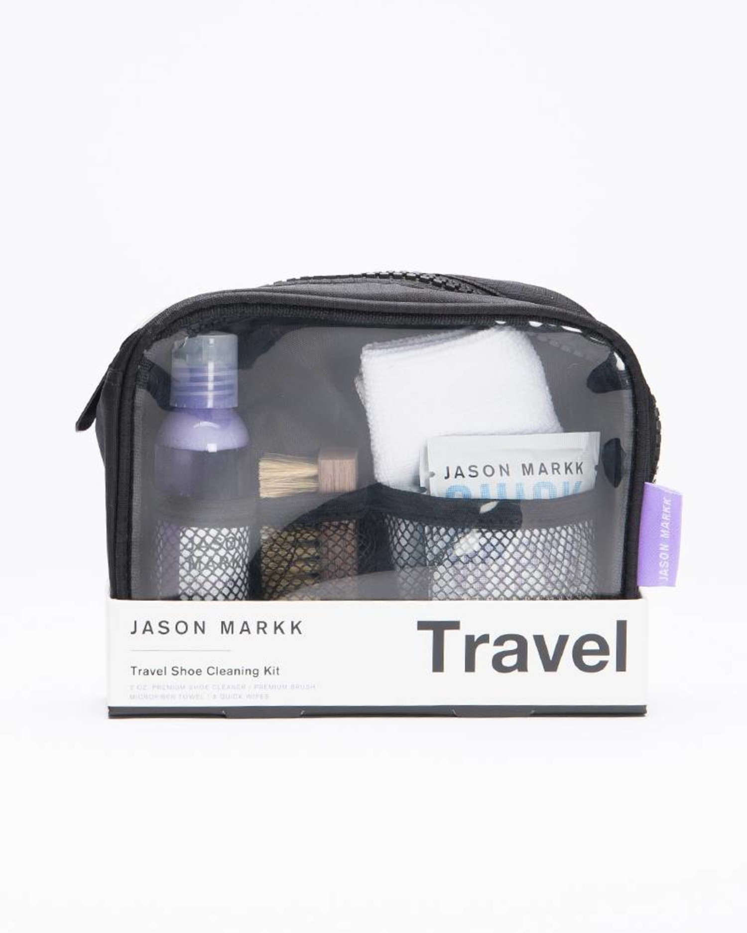 Jason Markk Premium Shoe Cleaning Travelkit in Pouch
