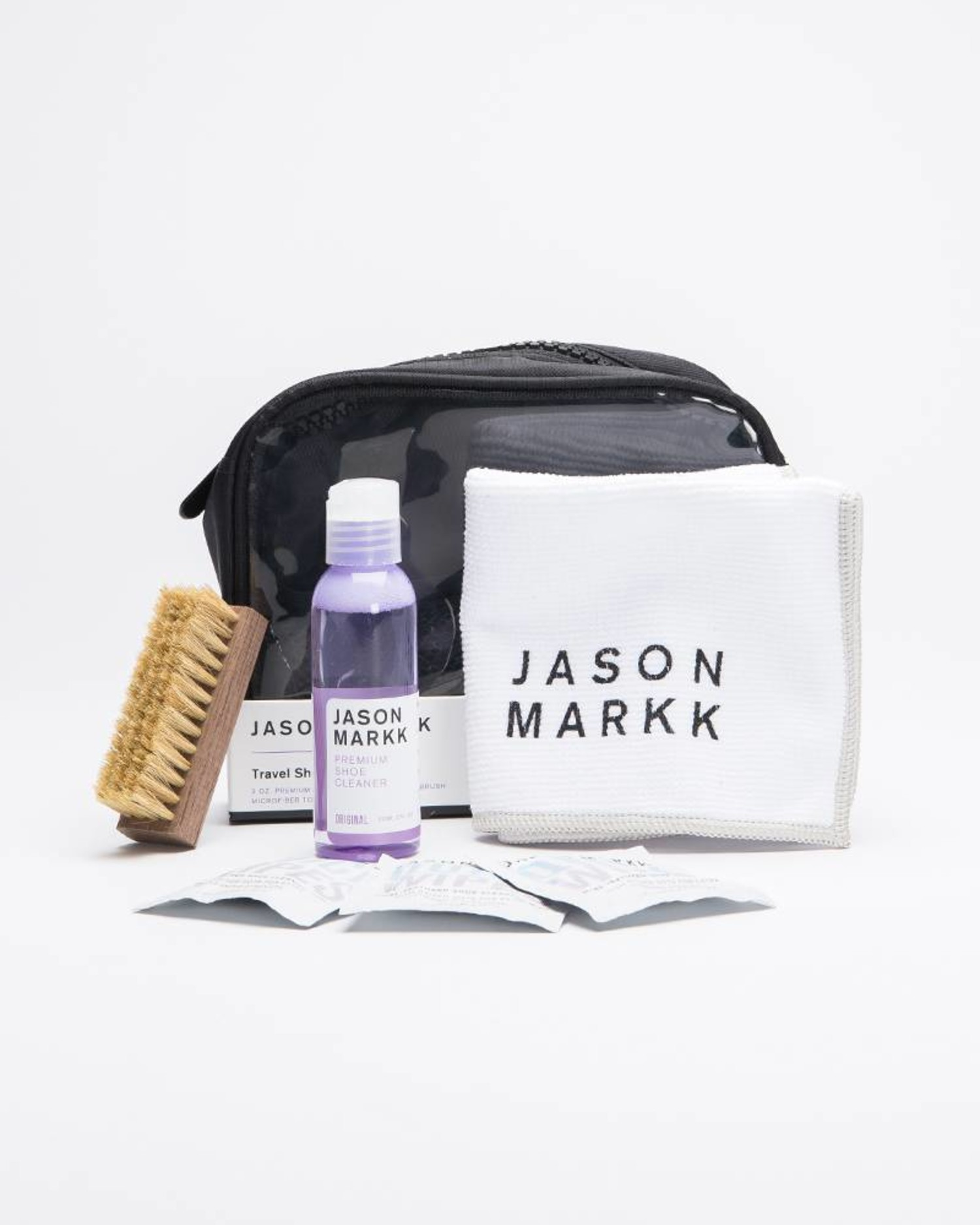 Jason Markk Premium Shoe Cleaning Travelkit in Pouch