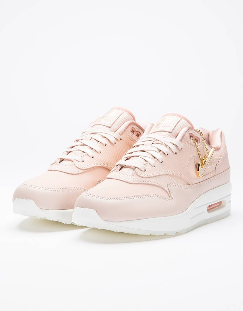 newest eeb18 9a983 Nike Womens Air Max 1 PRM Particle Beige Particle Beige ...